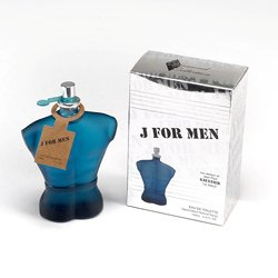 J for Men 3.4 Oz Impression of Le Male By Jean Paul Gaultier