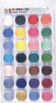 Top 28 colors Pallet PAL28 Snazaroo Pallet Set