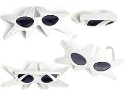 Funcart White Star fish Sunglasses