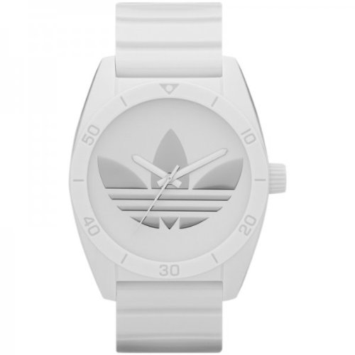 Adidas ADH2703 SANTIAGO All White Watch