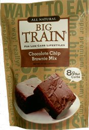 Big Train Low Carb Chocolate Chip Brownie Mix 11 oz. bag