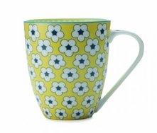 Christopher Vine Cotton Bud Mug 500ml Yellow