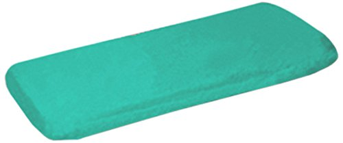 Ababy Organic Fitted Crib Sheet, Jade front-381507