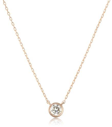 [VAヴァンドーム青山] VA VENDOME AOYAMA K18ダイヤモンド一粒 エクセレントペンダント・ノベルティピンブローチ付き GGVN003040DI