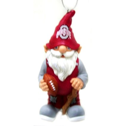 Ohio State Buckeyes NCAA Gnome Christmas Ornament
