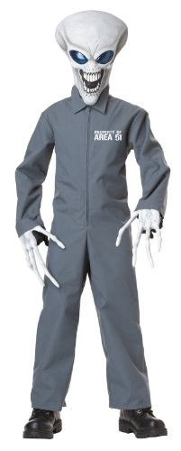 California Costumes Property of Area 51 Child Costume, Large