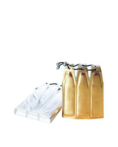 JoyFul Christmas Copribottiglia Refrigerante Champagne Oro