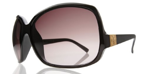 Electric Women'S Lovette Sunglasses,Gloss Black Frame/Brown Gradient Lens,One Size