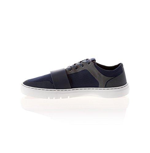 Creative Recreation Men's Cesario Lo Woven Fashion Sneaker, Navy Pewter, 10 M US