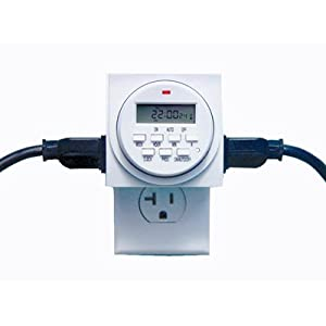 Digital Timer Programmable Lights Outlets