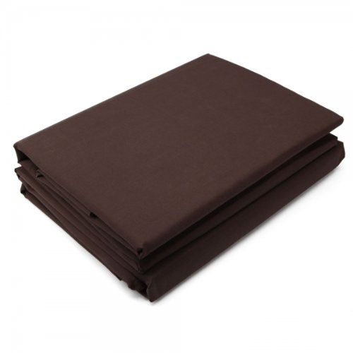 """4Pc Microfiber Bedding Sheet Set For Full (81"""" X 94"""")Chocolate 13005932 front-372654"""