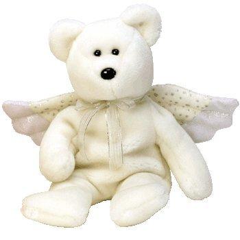 TY Beanie Baby - HERALD the Angel Bear - 1