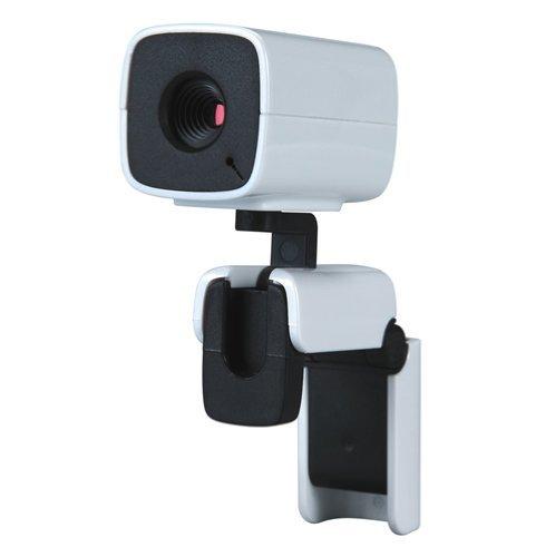 """Kinobo Usb """"Origami"""" Webcam 5Mpx For Laptop/Lcd/Desktop + Usb Microphone For Skype"""