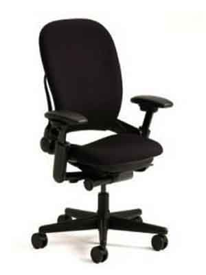 Steelcase Leap V1 High Back Office Chair -Black Fabric