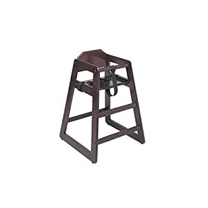 Update International WD-HCM Wood Baby High Chair Mahogany by Update International