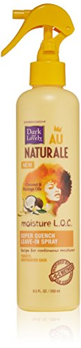 SoftSheen-Carson Dark and Lovely Au Naturale Moisture L.O.C. Super Quench Leave-In Spray, 8.5 fl oz (Dark And Lovely Moisture Loc compare prices)