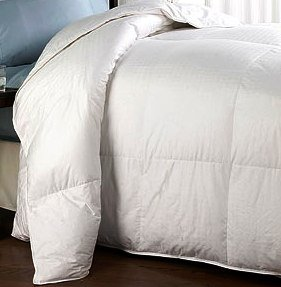 300tc (Micro-fiber) White Down Alternative Comforter,