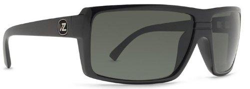 Von Zipper Snark Sunglasses Black Gloss/Grey, One Size