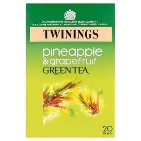 Twinings Green Tea with Pineapple & Grapefruit 20 Tea Bags 2-pack