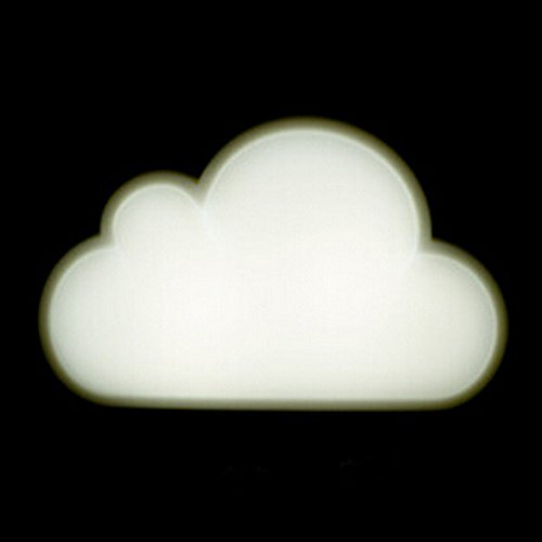 Vktech Novelty Cloud Shaped Light Control Living Room Hallway Led Night Light Lamp (Style A)