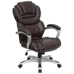 Flash furniture Brown Leather Executive Office