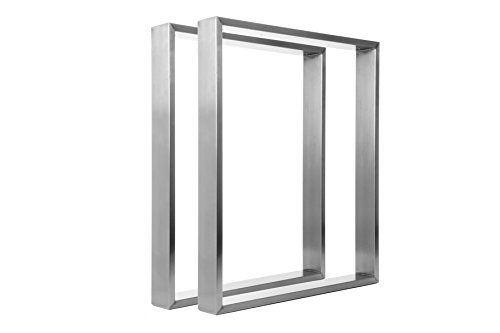 Table Frame Stainless Steel TR80 600 mm Wide Base Table Skid Frame