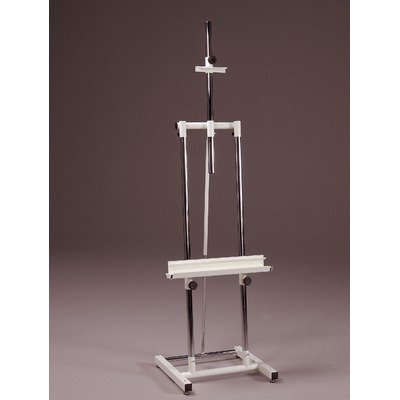 Avanti II Metal Double Post Easel Color: Black