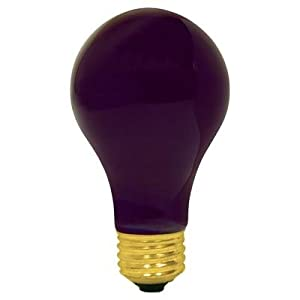Black Light 75 Watts A19 Uv Light Bulb Long Life Black Light Bulb Incandescent Bulbs
