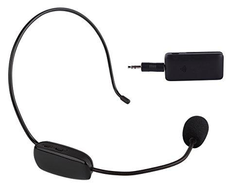 DuaFire-Wireless-Microphone-Headset-Megaphone-Speech-Radio-Mic-for-Voice-AmplifierSmart-TVStereoDigital-SLRSpeaker-Karaoke-Computer24G