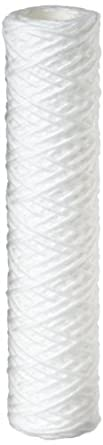 "Pentek WP-5 String-Wound Polypropylene Filter Cartridge, 9-7/8"" x 2-1/4"", 5 Micron"