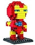 Marvel Avengers Diamond Blocks/Micro Bricks -Spider Man/Hulk/Captain America/Iron Man/Bat Man/Super Man/Thor/Wolverine (Iron Man)