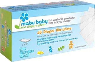 Mabu Baby Diaper Liners
