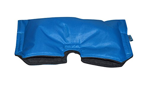 Tivoli Couture Universal Stroller Handmuff/Hand Warmer, Sapphire Blue/Grey