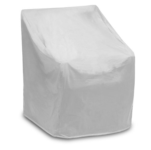 Protective Covers Weatherproof Wicker Chair Cover, Regular, Gray image