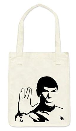 21 Century Clothing Spock Star Trek Cotton Bag - White