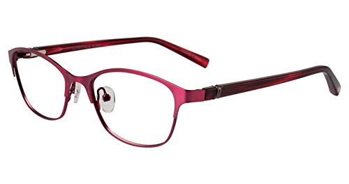 JONES NEW YORK Eyeglasses J138 Burgundy 48MM (Jones New York 138 compare prices)