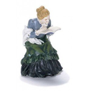 Dollhouse Reading Granny - 1