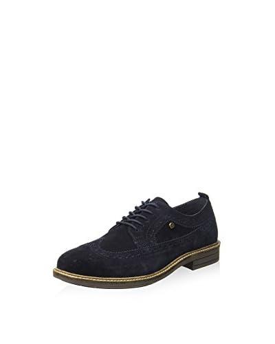 Hackett London Zapatos de cordones American Brogue Suede Marrón