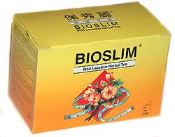 Bioslim Herbal Tea, 2 Packs, 60 Tea Bags, Natural Weight Loss. Mild Laxative