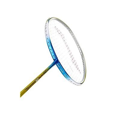 Li-Ning Code Red 20 Windstorm Carbon Fiber Badminton Racquet, Size S2 (Blue/Lime)