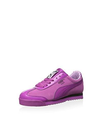 PUMA Women's Roma Patent Sneaker