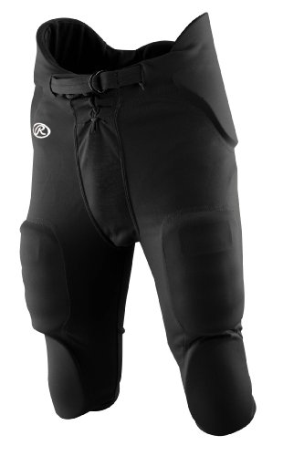 Rawlings Boys' F1500P Football Pant (Black, Medium) (Football For Boys compare prices)