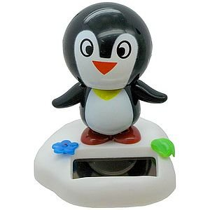 Solar Power Motion Penguin Toy