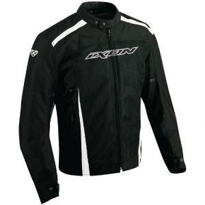 ixon hacker game blouson textile homme noir blanc taille m sport automobile vestes. Black Bedroom Furniture Sets. Home Design Ideas