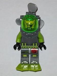LEGO Atlantis: Ace Speedman Diver Minifigure with Propeller