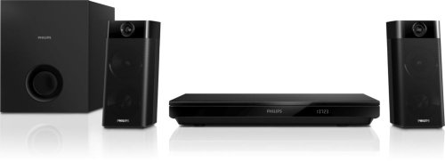 Philips HTB5260G/12 2.1 3D Blu-ray Heimkinosystem (500W RMS, Full HD, Smart TV, Bluetooth) schwarz