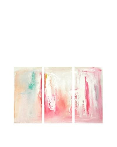 Oliver Gal Dreaming Triptych Canvas Art