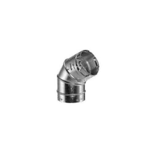 "Duravent 4Gvl45 4"" Inner Diameter - Type B Round Gas Vent Pipe - Double Wall - 4, Aluminum"