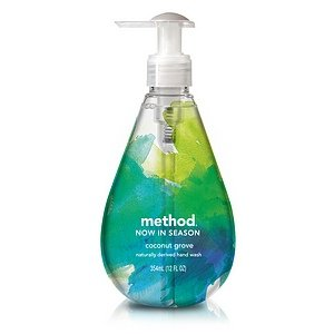 Method Now In Season Naturally Derived Hand Wash, Coconut Grove, 12 Fluid Ounce