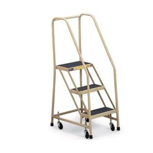 GILLIS Mobile Office Ladders - Almond: Stepladders: Amazon